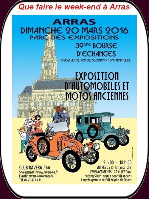 Expo véhicules anciens,printemps culture, concerts, brocantes etc. c'est ce week-en à Arras et ses environs.