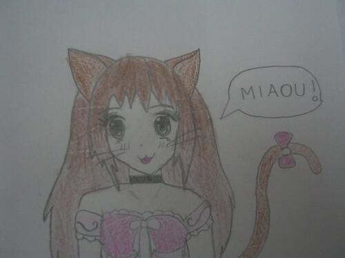 Dessins #6 - Princesse chat :3