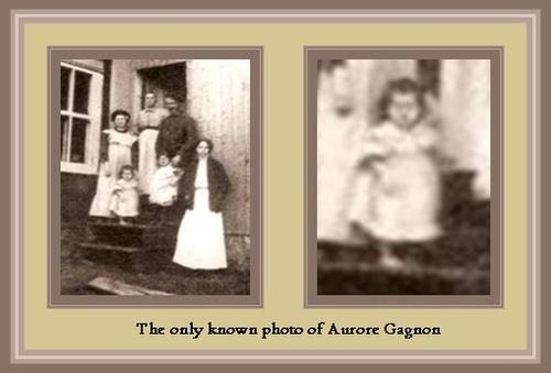 Né le 31 mai 1909, Aurore Gagnon, Gémeaux, jeune fillette quebecoise décédéé à cause des coups