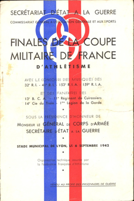 1942 - Coupe militaire de France