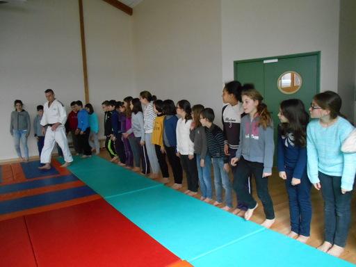 Nous avons commencé le judo !