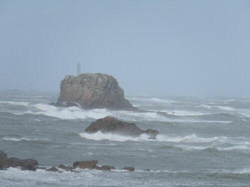 tempête au sillon de Talbert!