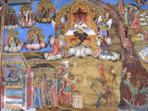 Les belles fresques du monastère de Rila en Bulgarie (photos)