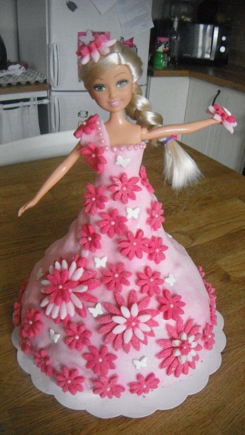 DIY, gâteaux d'anniversaire Barbie et Fée Clochette