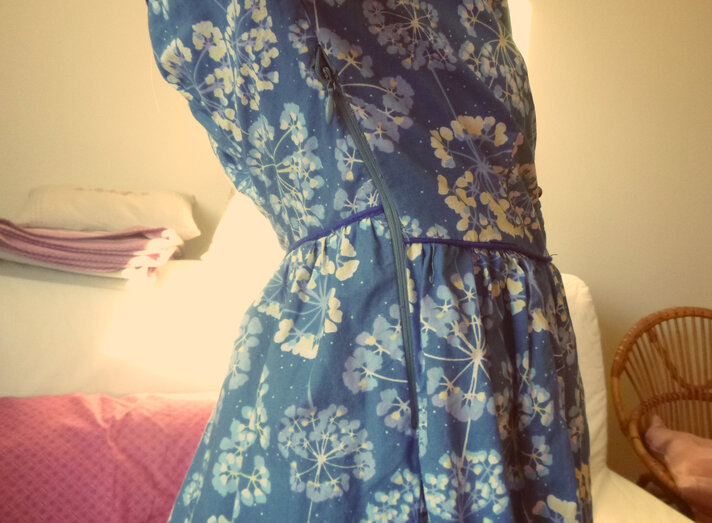 La petite robe inspirée de la camas blouse