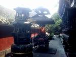 la montagne Qing Cheng Shan, haut-lieu du taoisme et du tourisme de masse