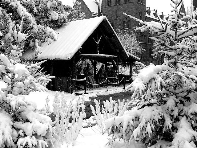 Metz sous la neige 22 Marc de Metz 2011