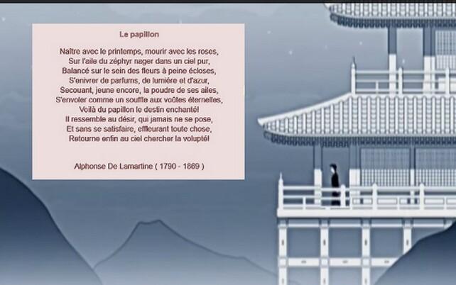 Pafums d'enfance  / 2 Montage texte  A Lamartine par Joel Georges .