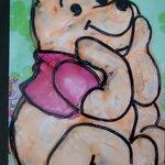 "Gâteau ""Winnie l'ourson"""