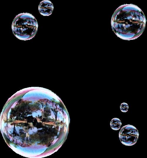 Tubes bulles en png