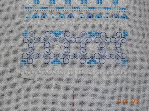 flower patch de loopylou -étape 4 et 5 - suite