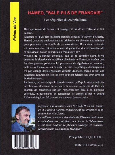"""""""Hamed sale fils de Français"""" Un livre d'Henri POUILLOT"""