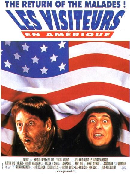 LES VISITEURS EN AMERIQUE BOX OFFICE 2001