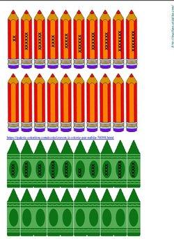 Projet couleurs: Outils pour la rentrée