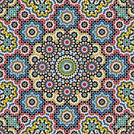 Les Mosaiques Des Palais Arabes La Classe De Corinne