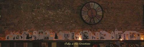 DIY village de Noël géant lumineux