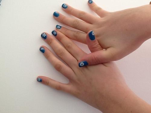 Je prend soins de mes ongles