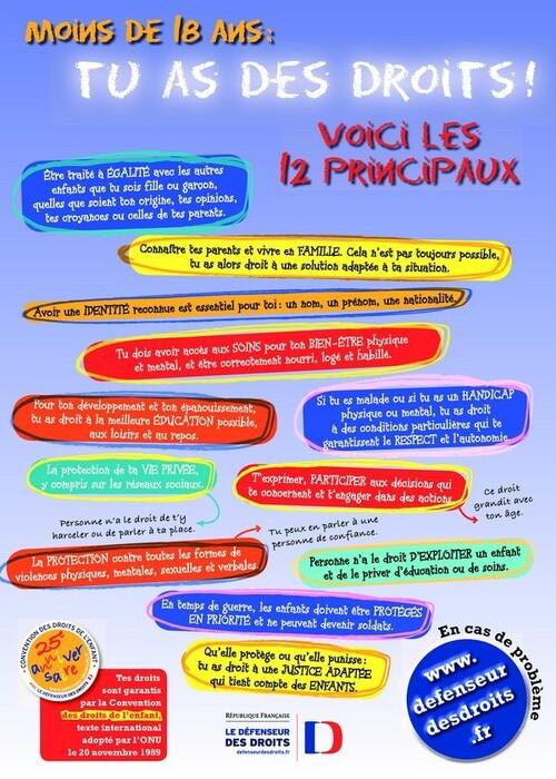 25ème anniversaire de la Convention des Droits de l'Enfant