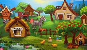 Jouer à Escape Game - Cartoon village