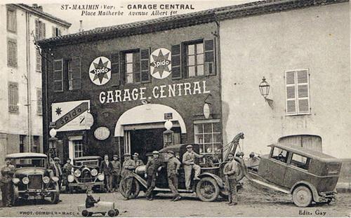 Les garages automobiles