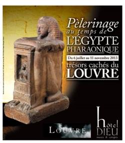 Visite de l'exposition sur l'Egypte antique