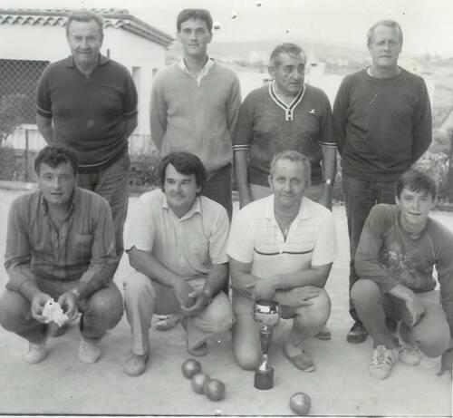 Quelques souvenirs des boulistes villeneuvoie : ABV LAVILLEDIEU