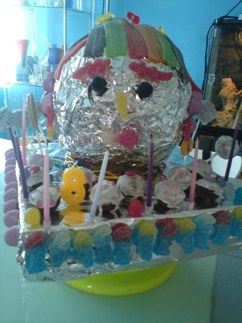 gâteau de bonbons, cakes pop's et sucettes