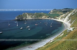 GB94 coastline lulworth cove std