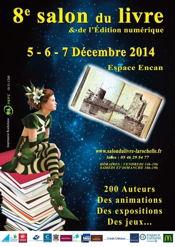 Salon du livre de La Rochelle 2014