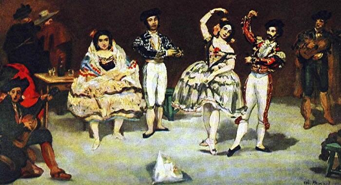 Manet 3 / 1862   Toujours  l'heure espagnole !