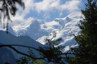 Là sur le Mont Blanc.