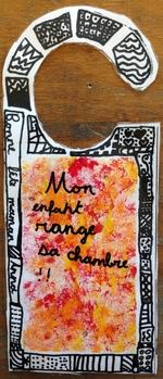 Pancarte de porte