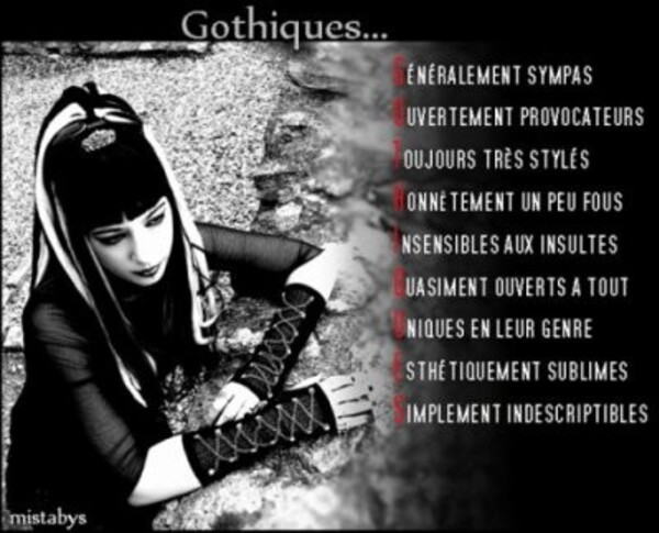 Citations gothiques