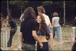 Photos de filles à Woodstock : beauté et style de 1969