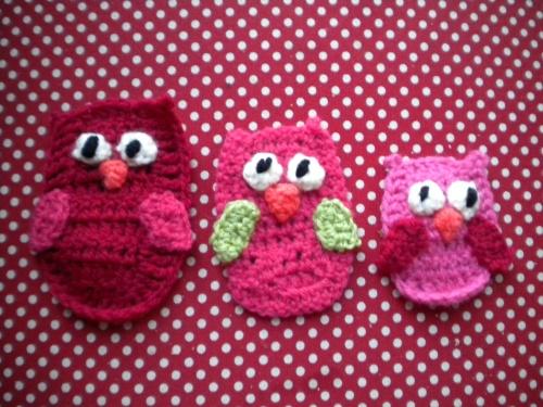 Petites chouettes en crochet