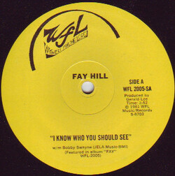 Fay Hill - I Know Who You should See