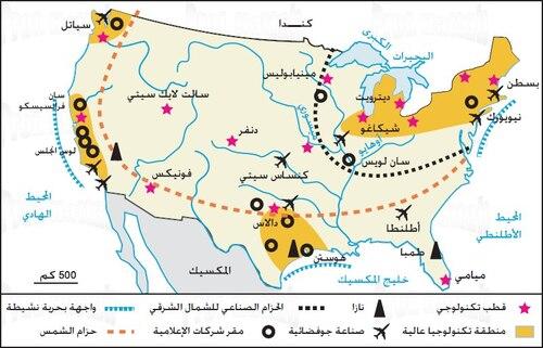 خرائط الولايات المتحدة الأمريكية