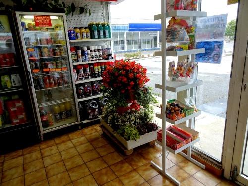 Toujours des fleurs à la Station Avia !