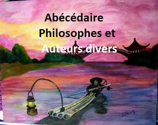 Chez Violette, l' abécédaire auteurs philosophes. V.