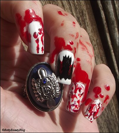 nailstorming halloween