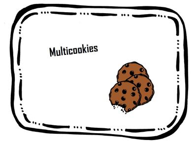 Atelier multiplication : les multicookies