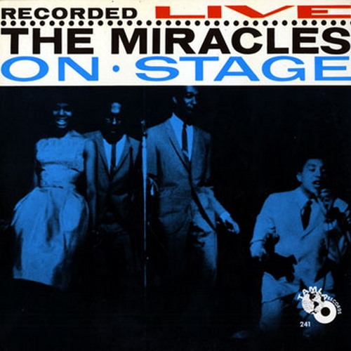 "The Miracles : Album "" Recorded Live On Stage "" Tamla Records TM 241 [ US ]"