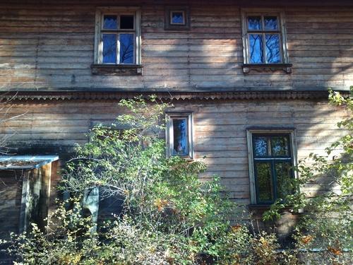 Une maison dans les bois à Dulbuti.