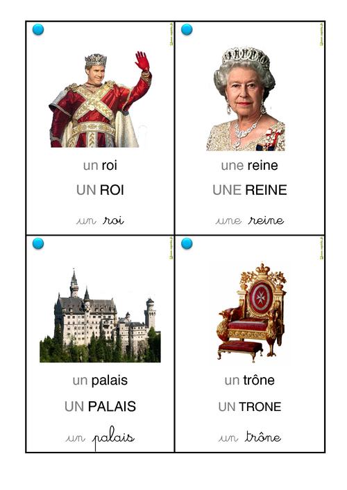 Vocabulaire galette des rois.