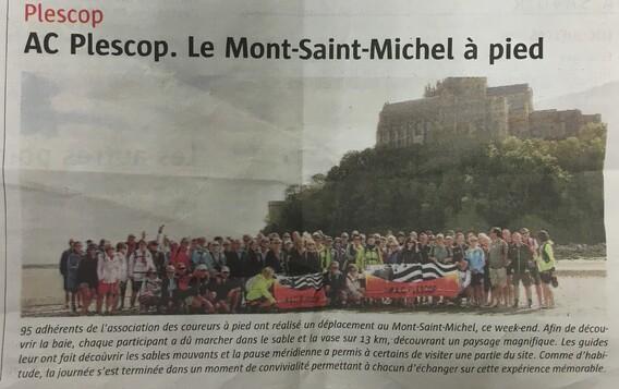 Sortie Mont Saint Michel