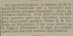 * CHANDENIER  Louis-Antoine