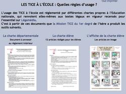 Charte d'usage des TIC, TICE, rédiger, internet, protection, danger, dissurtice