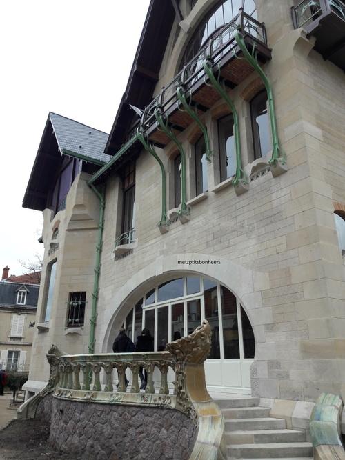 La villa Majorelle à Nancy...