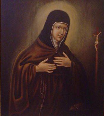 Sainte Camilla Battista Varano, sœur clarisse fondatrice du monastère de Camerino († 1524)
