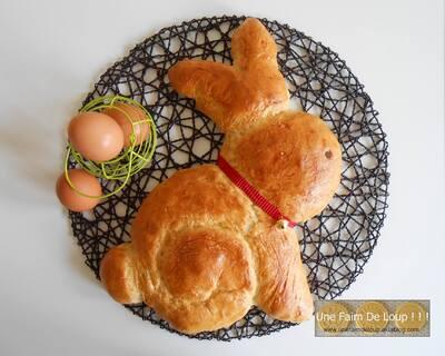 Le lapinou brioché de Pâques